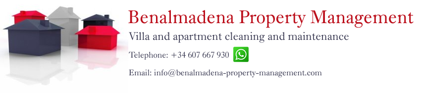 Benalmadena property  cleaning company.